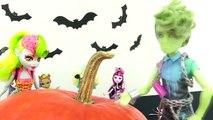 Monster High: Halloween PUMPKIN Costume Party Ghosts, Goblins & Ghouls!