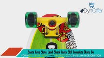 Santa Cruz Skate Land Shark Rasta Sk8 Complete Skate Boards 88 x 277Inch Longboard Skateboards Sports and Outdoors