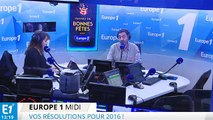 Quelles sont vos résolutions pour 2016 ? Allô Europe Midi 01/01/2016