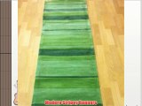 Henden Boulevard Green Stripey Runner Rugs 60 x 220cm Cheap and Affordable High Quality Rugs