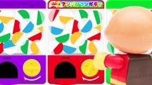 アンパンマンおもちゃアニメ ガシャポンでガチャガチャ レアキャラ登場 かっぱアンパンマン PPCandy Channel Anpanman Toy Anime Surprise Eggs