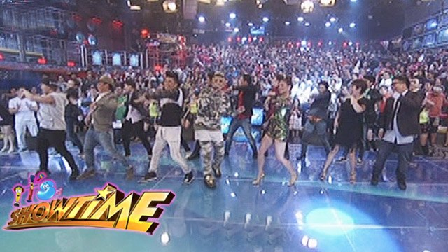 It's Showtime: Energetic performance from It's Showtime family