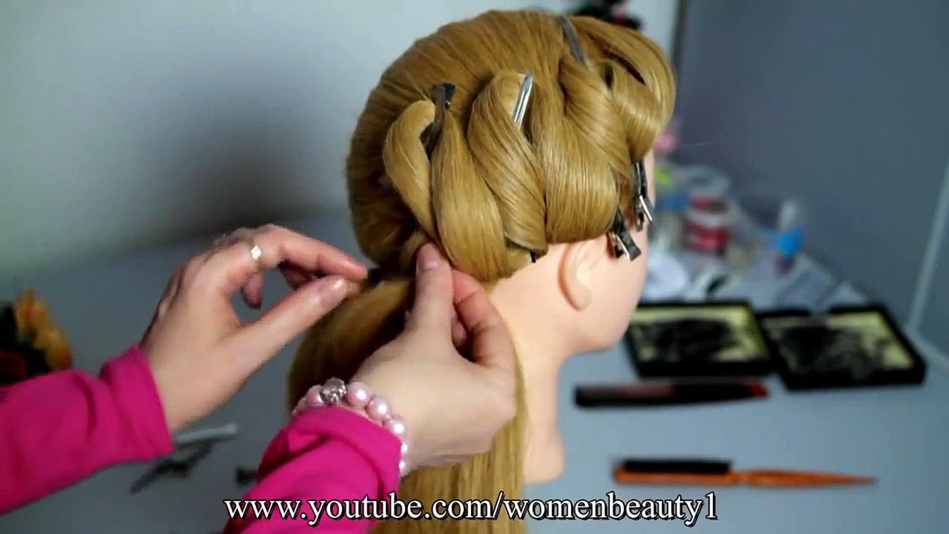 Easy Hairstyle Video DIY hair style ideas hair styles for long hair new