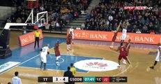 BSL 14. Hafta | Türk Telekom-Galatasaray Odeabank İlk Yarı