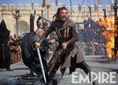 Michael Fassbender in Action in New Assassin's Creed Images