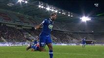 Sedan-Bastia 0-2 : le but de Brandao