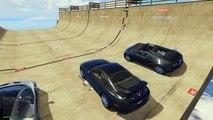 GTA 5 Mods Go Karts With Friends HUGE VERTICAL MEGA RAMPS! (GTA 5