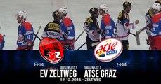 Steirische Eliteliga - EVZ vs ATSE Highlights & Interviews