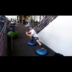 Leg Exercises With a Kungfu Twist
