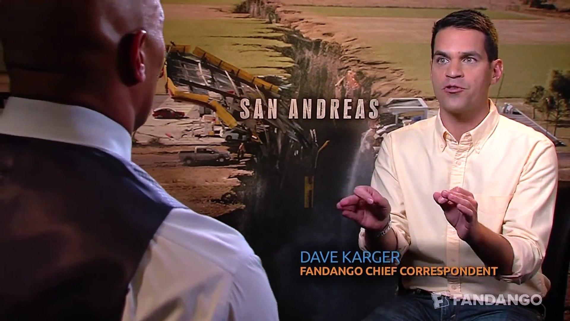 San Andreas Interview HD | Celebrity Interviews | FandangoMovies