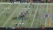 Saints Defensive End Get Crazy INT off Chest of Jaguars WR | Jaguars vs. Saints | NFL