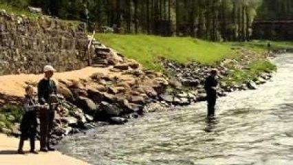 gordon ramsay goes fishing with his son gordon ramsay