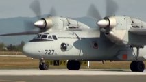 Croatian Air Force, Antonov An-32 take off, Zagreb, Croatia