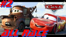 Cars Gameplay All Circuits Xbox 360 Ps2 Gamecube 2006 Part 2 (720p)