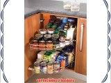 Corner carousel 1/2 Carousel set kitchen cuboard storage system 1000mm