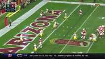 Carson Palmer Zips It To Larry Fitzgerald for 3 yard TD! | Packers vs. Cardinals | NFL