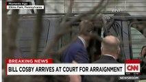Sexe : Arrêté, l'acteur américain Bill Cosby clame son innocence ( Bill Cosby arrives at court for arraignment ) !