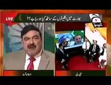 Angry Sheikh Rasheed Ahmed Fights With Coward Indians & Maks Them Run From Ahmed Qureshi Show