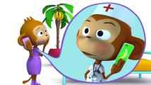 Childrens Songs Cartoons Five Little Monkeys! Kids Music & Nursery Rhymes