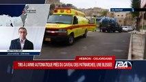 Tirs à l'arme automatique près du caveau des patriarches, une blessé à Hébron