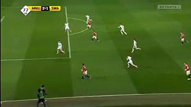 Wayne Rooney Goal Hd Manchester United Swansea Video Dailymotion