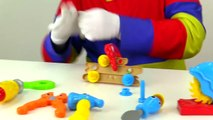 Car Clowns Toy Truck Workshop! (Videos for Kids & Childrens Trucks Toys)