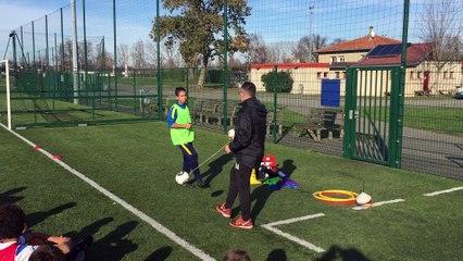 Découverte du Senseball avec B.Antoine du FC Metz