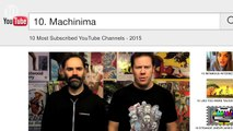 10 Most Subscribed YouTube Channels - 2015