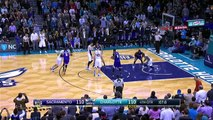 Kemba Walker and Rudy Gay Trade Buckets as Hornets/Kings go to OT