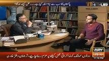 Jis ke neechay zameen apni nahi aur sar per chat apni nahi, us ka vote kaise apna ho sakta hai - Hassan Nisar