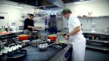 dom joly takes on chef ramsay gordon ramsay