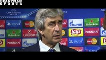 Juventus 1 0 Manchester City Manuel Pellegrini Post Match Interview