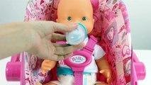 Baby Doll Bathtime Bébé nouveau-né Bébé Poupée à lHeure du Bain de bébé poupée à lheure du bain, salle de bain et jouer avec des jouets