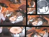 Footage MUSE Dominic Howard batterie