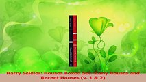 PDF Download  Harry Seidler Houses Boxed SetEarly Houses and Recent Houses v 1  2 PDF Online