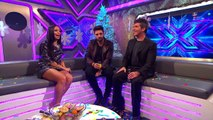 Winner Ben Haenow and Simon Cowell chat to Sarah Jane | The Xtra Factor UK | The X Factor