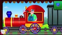 Wild Animals Train Mr.Bells Learning Train | Animals For Children