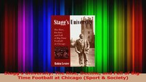 Staggs University The Rise Decline and Fall of BigTime Football at Chicago Sport  Download