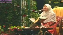MasyaAllah! Merdunya Bacaan Sūrat al-ʻAlaq (سورة العلق) Beautiful Quran Recitation By Somaya Abdul Aziz Eddeb - Femme Voix Angélique Récitation Du Coran - सुंदर कुरान सस्वर पाठ - سمية الديب وتلاوة رائعه