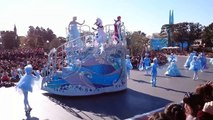 Anna & Elsa Frozen Fantasy Greeting Parade Tokyo Disneyland Japan 2015 東京ディズニーランド