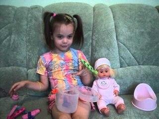 ✔ Кукла Baby Born. Девочка Полина Рассказывает про свою Игрушку. Моя Любимая Игрушка