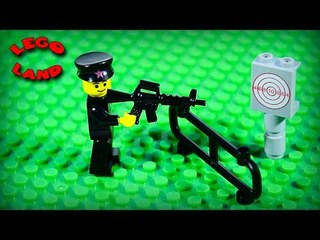 ✔ LEGO Movie TARGET Stop Motion Animation