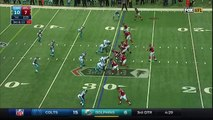 Julio Jones Jumps Over Kuechly & Sprints for 70 yd Photo Finish TD | Panthers vs. Falcons