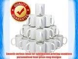 72 Sublimation Mugs White 11oz Large Handle Mugs Plain Coffee Tea Cafe kitchen Home China heat