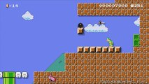Super Mario Maker - NES Remix (Super Mario Bros 2 & Excitebike) Event Course Playthrough!