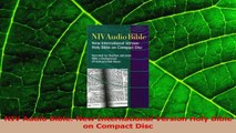 PDF Download] NIV Audio Bible: New International Version