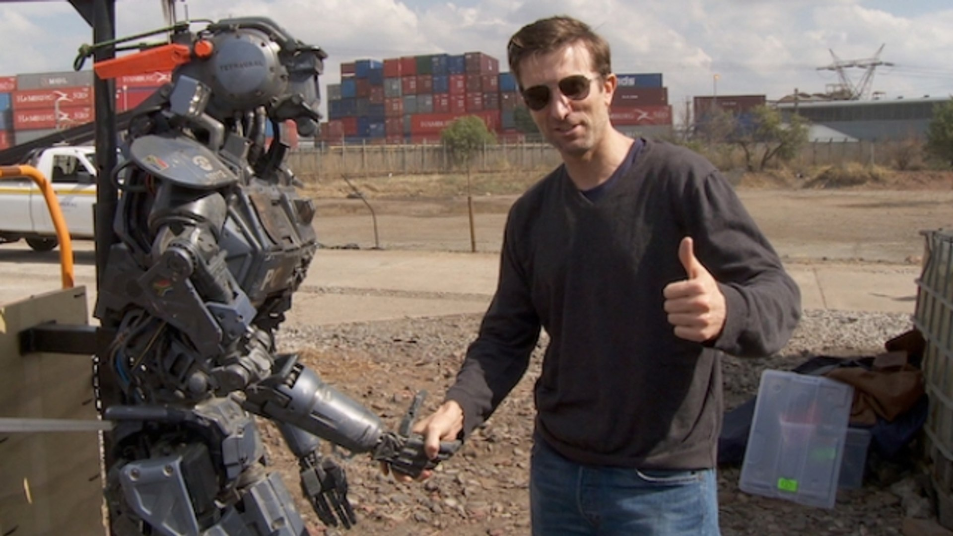Behind the Scenes of Chappie