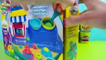 Play Doh Double Desserts Playset Playdough Cupcakes toys Review Kids Games