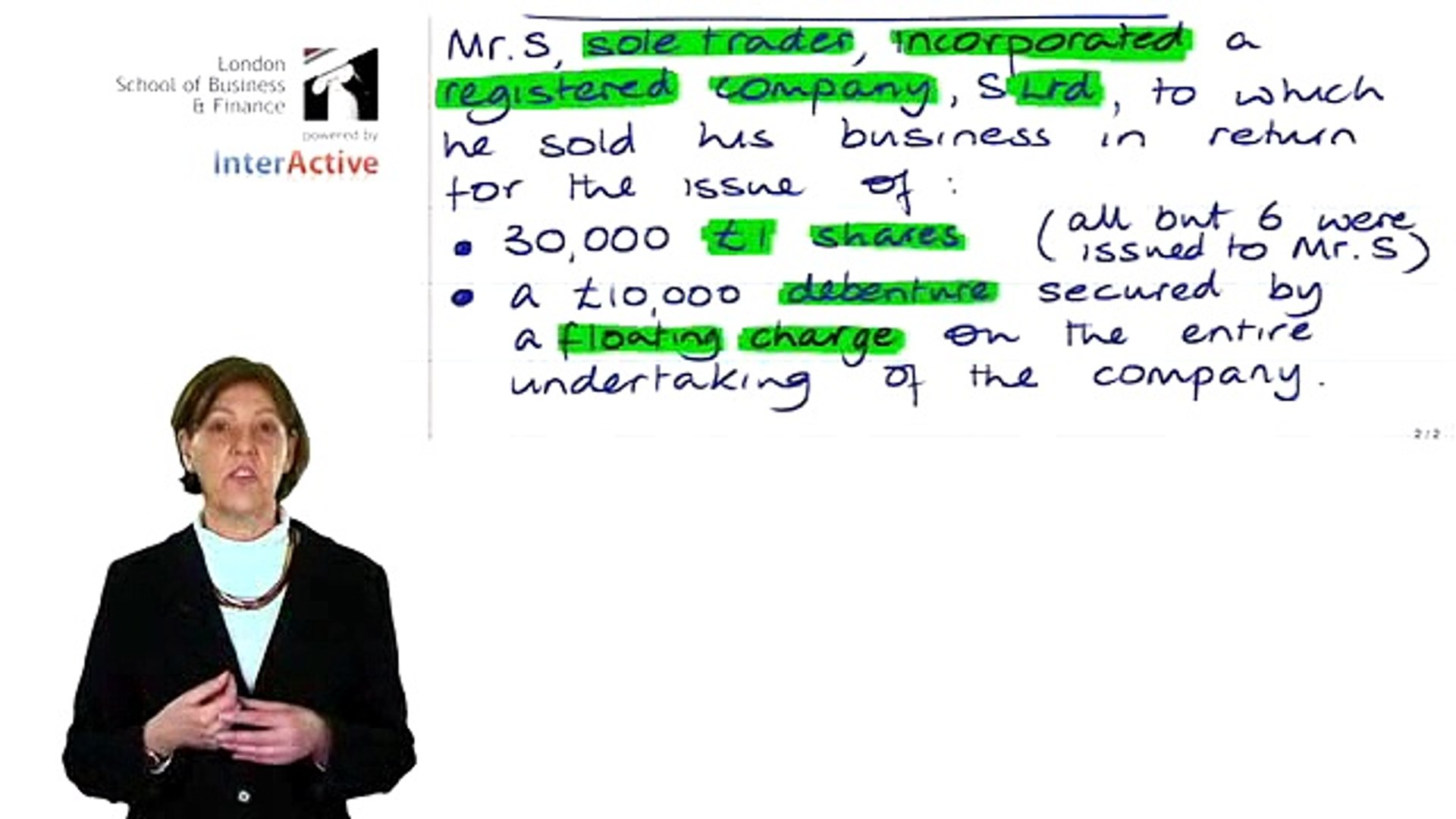 ACCA F4   Company Law - Nature and Types of Company Part 2