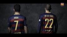 Barcelona divulga numeração de 'reforços'